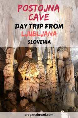 Visiting Postojna Cave from Ljubljana