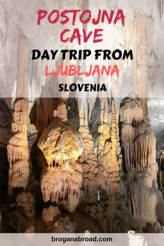 How to get to Postojna Cave and Predjama Castle on a day trip from Ljubljana, Slovenia. Read about the Queen of Caves and the world's largest castle built in a cave. #Slovenia #Ljubljana