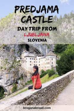 Visiting Predjama Castle from Ljubljana