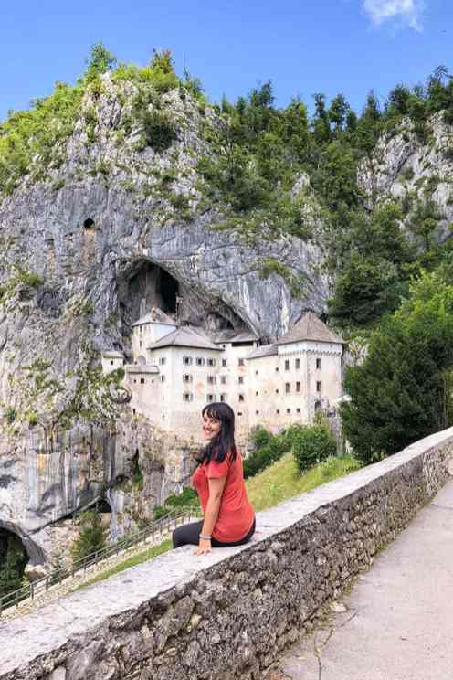 Predjama Castle is one of the most popular day trips from Ljubljana