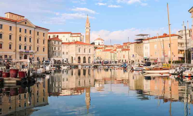 Piran is one of the best places to visit in Slovenia and day trips from Ljubljana