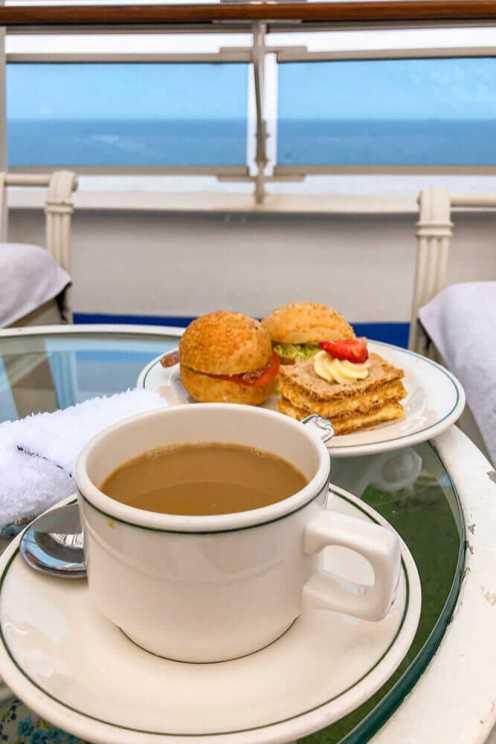 Tea-at-The-Sanctuary,-Princess-Cruises