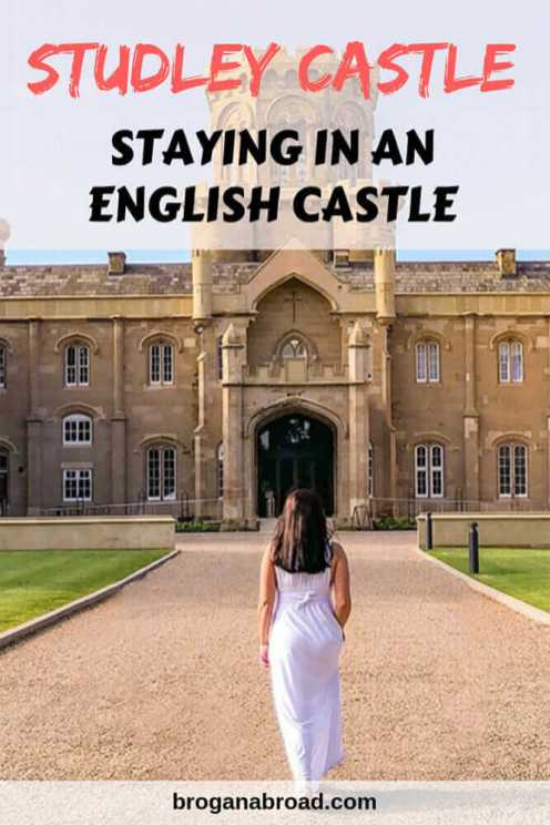 Have you ever stayed in an English Castle? Read about what it was like to stay in Studley Castle, an adults-only luxury hotel in the heart of the English countryside. #england #castle #accommodation #hotel #travel