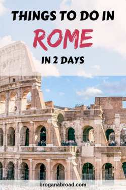 The Perfect Itinerary for Rome in 2 Days, including Vatican City