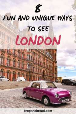 Fun and Unique Ways to See London