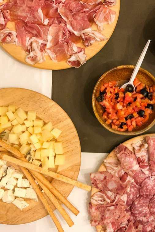 Food-tasting-at-Il-Cipresso,-Lombardy