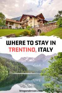 Accommodation Guide to Trentino, Italy