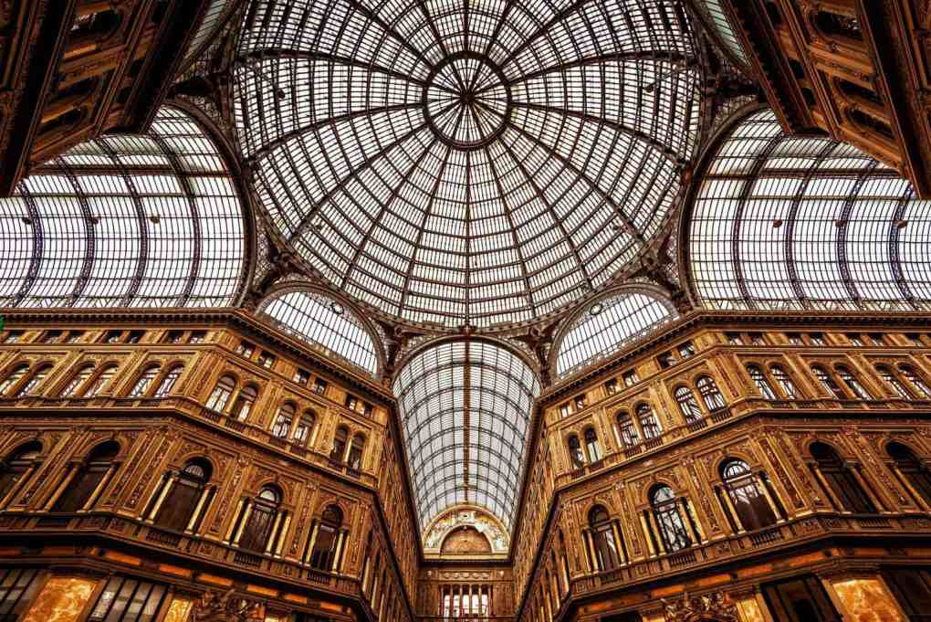 Grand gallery with glass dome