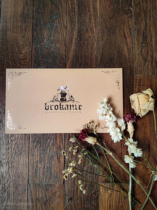 packaging cadeau pour gants femme brokante
