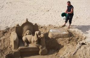 Hommage à Godard sur la plage