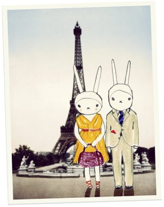 paris fifi lapin for lesportsac