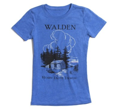 Out of Print - Blue Walden Tee