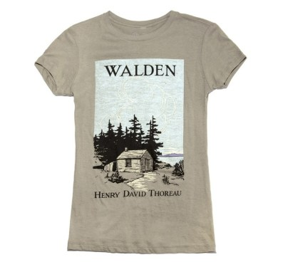 Out of Print - Gray Walden Tee
