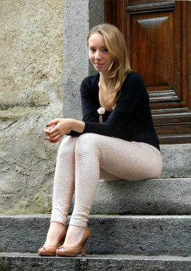 Sequin Leggings Outfit #3