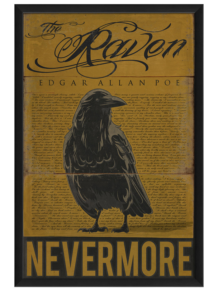 Poe The Raven Sign