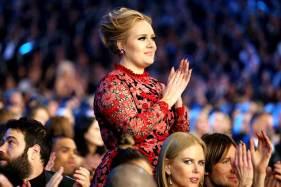 Adele Standing Ovation