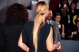 Beyonce's Ponytail