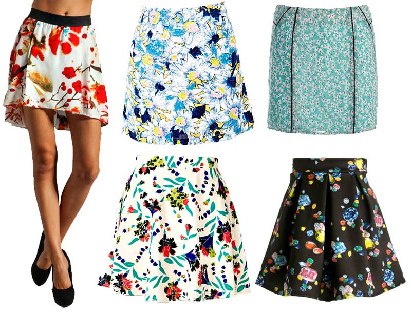 Flashy Eye Catching Skirts
