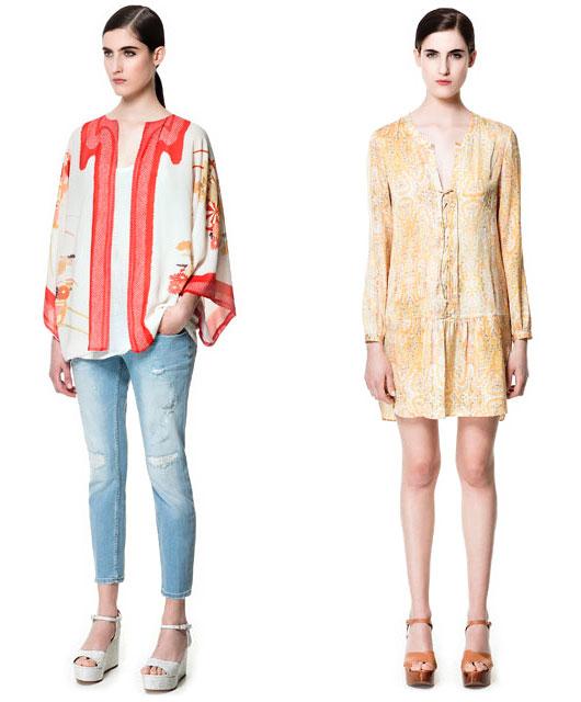 ZARA Kimono Jacket and Dress