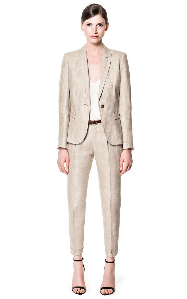 ZARA Linen Suit