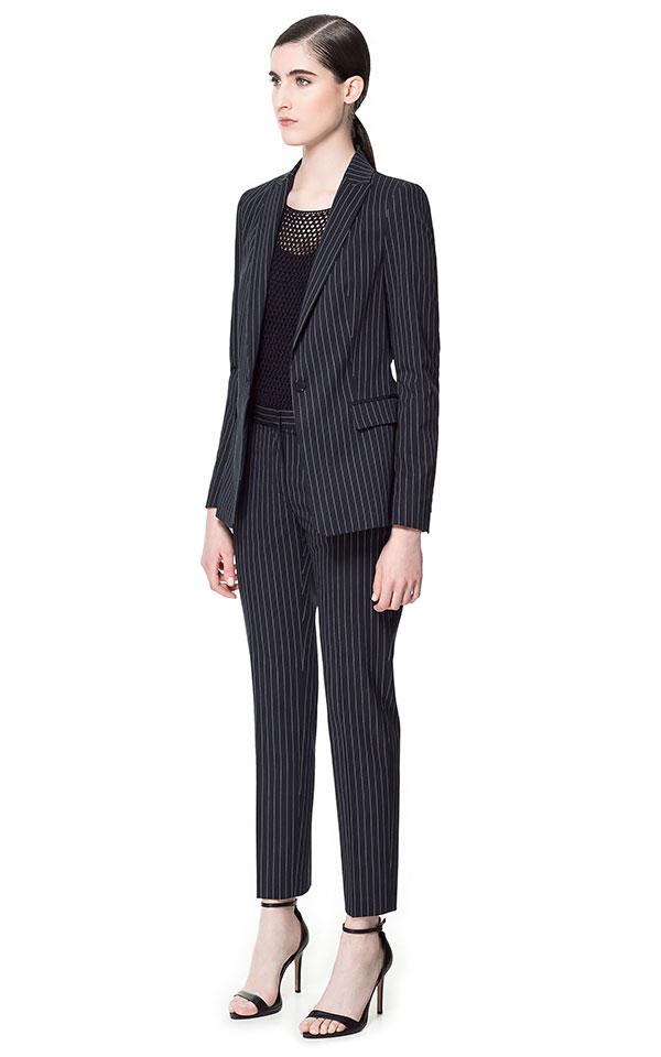 ZARA Pinstripe Suit