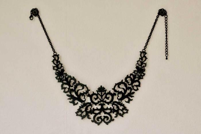 Black Totem Necklace