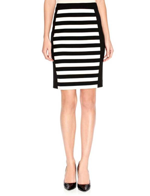 Daily Deal: The Limited Striped Ponte Skirt