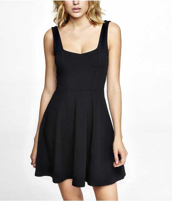 EXPRESS LIttle Black Corset Dress