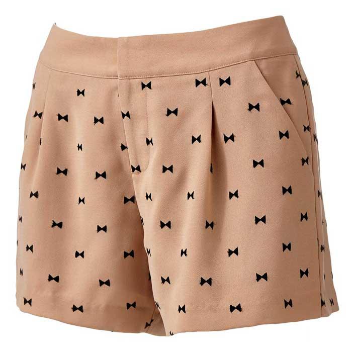 LC Lauren Conrad Bow Shorts