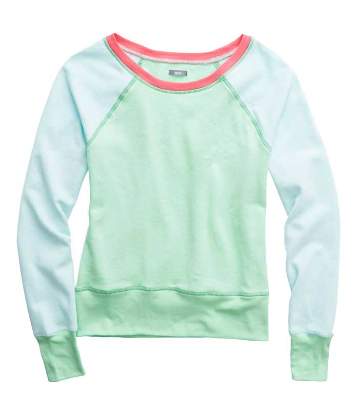 Daily Deal: aerie Pastel raglan Sweatshirt