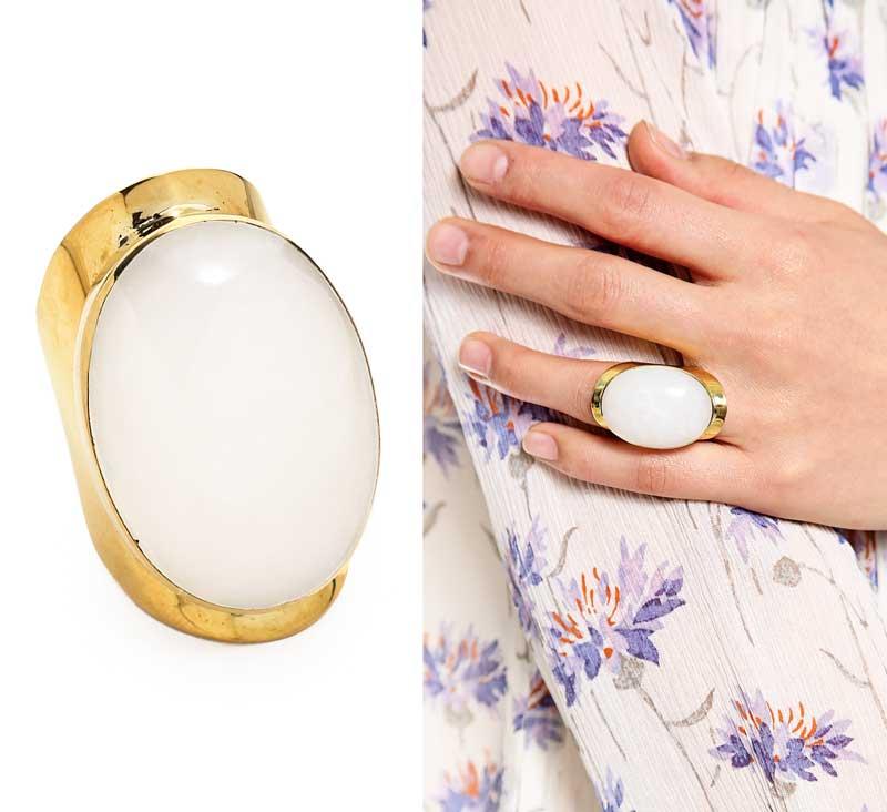 Sunhara Malibu Power Stone Ring