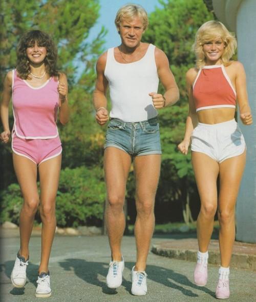 Dolphin Shorts - 1970s 1980s
