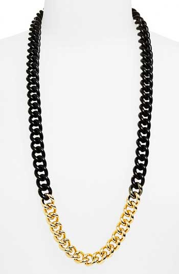Daily Deal: Paint Dipped Gold Chain