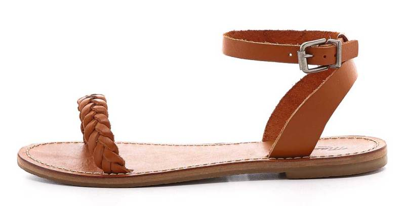 Best Minimalist Sandals: Madewell Sightseer Braided Sandals