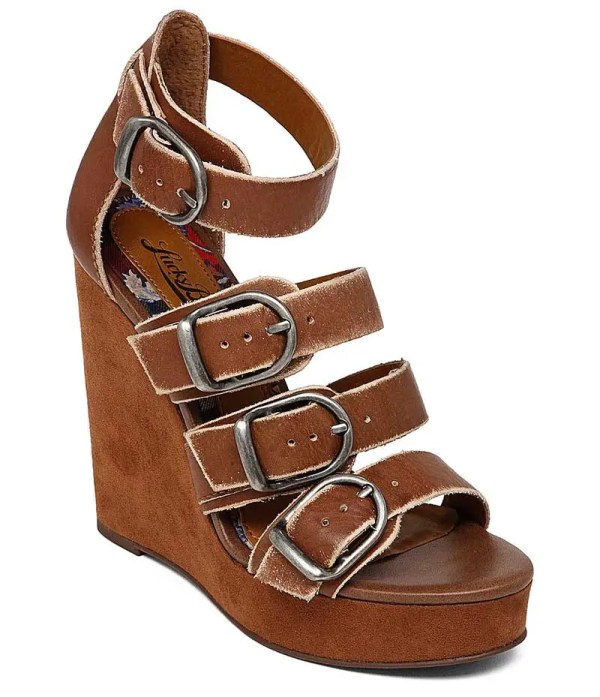 Top Wedges for Summer to Fall: Lucky Brand Rayah Wedges