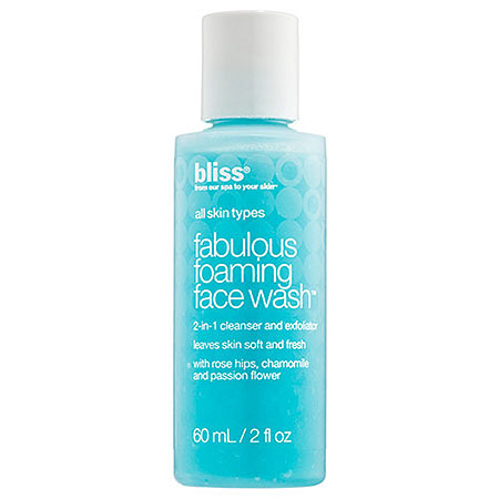 Bliss Fabulous Foaming face Wash Travel