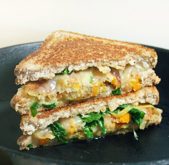 on-the-vine tomato grilled cheese