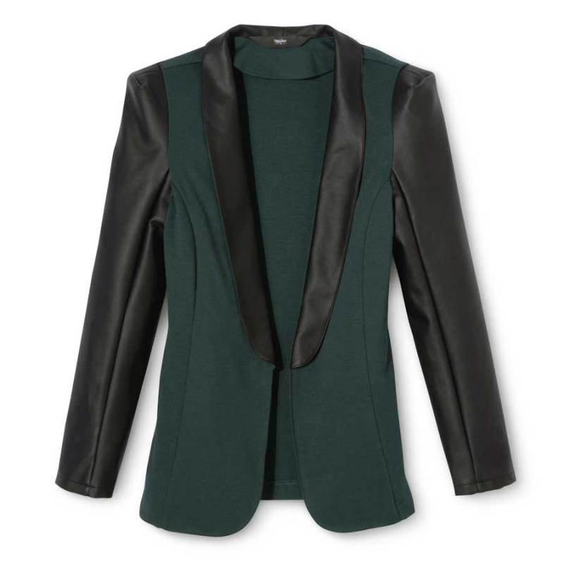 Mossimo Faux Leather Tuxedo Jacket