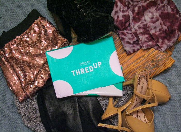 Selling Clothes on ThredUp