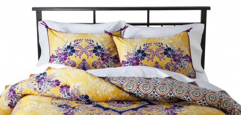 Nab Beautiful Patterned Bedding Now While It's 40% Off at Target • Broke and Beautiful