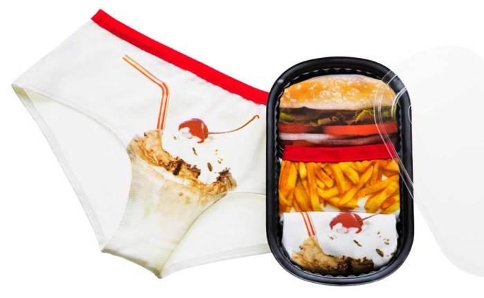 Naja #FoodPorn Happiest Meal Panty Set