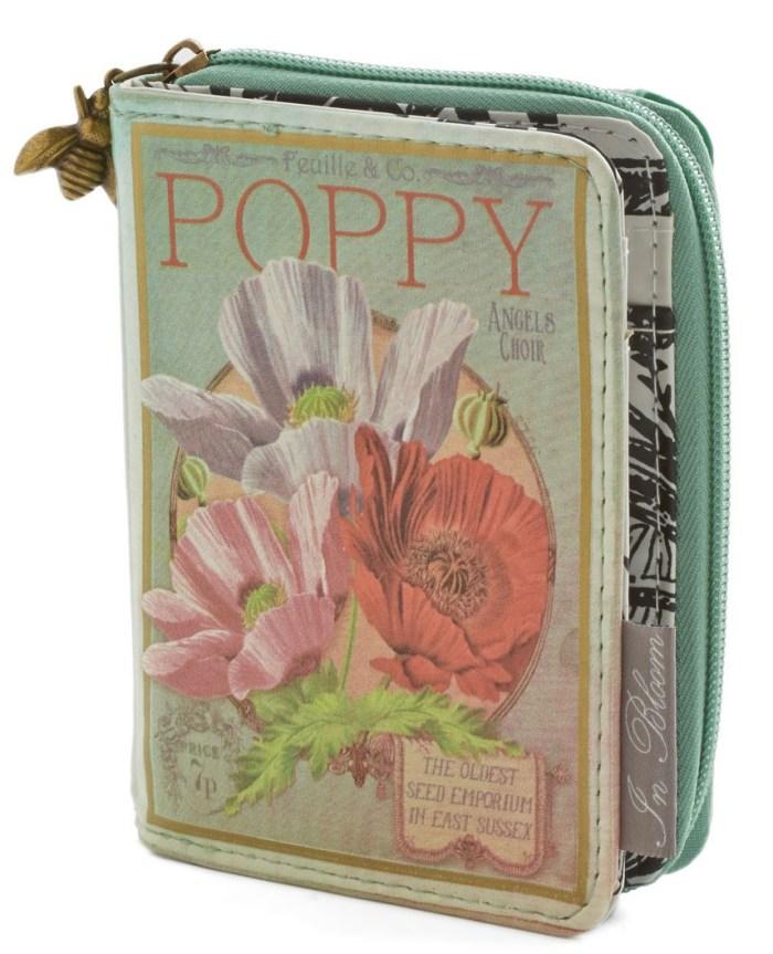 Poppy Botanical Wallet