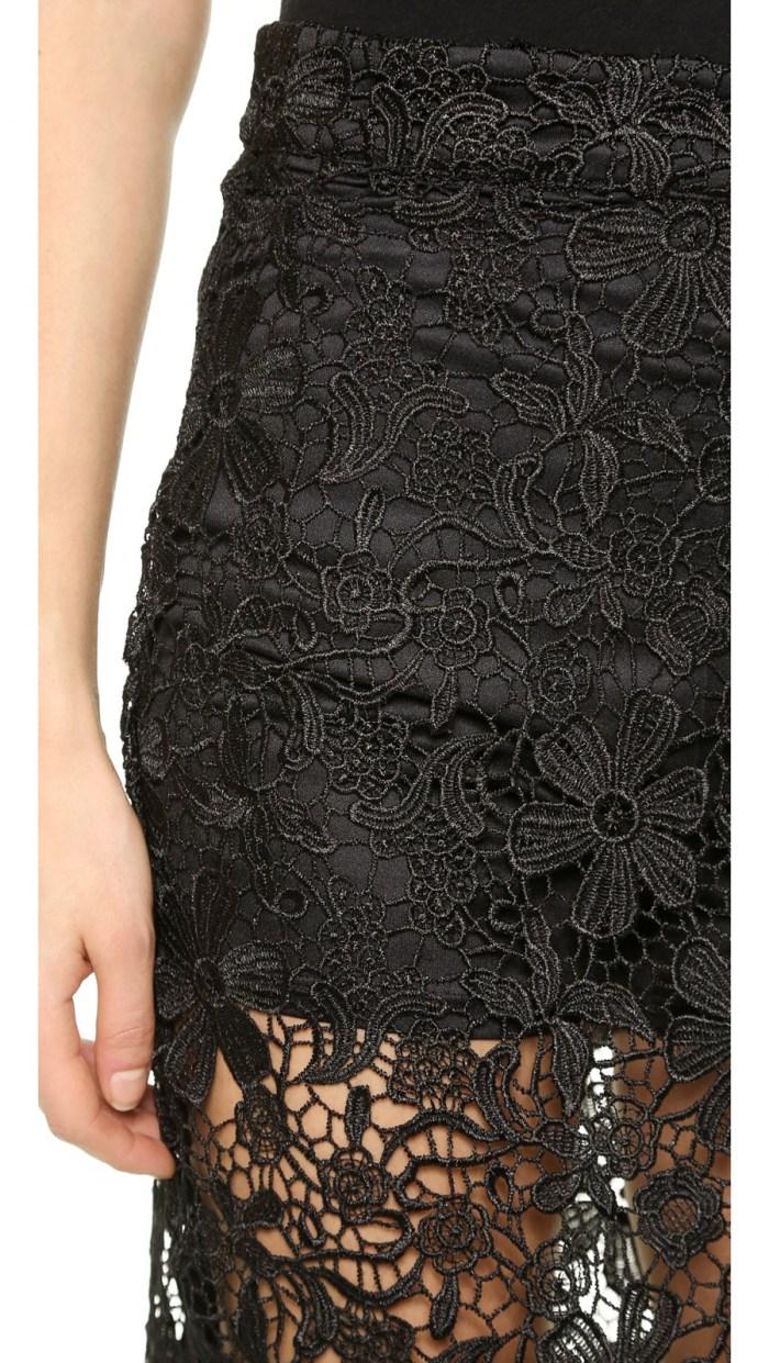 re:named Lace Pencil Skirt Skort