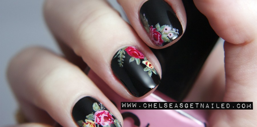 Diy floral nail art inspiration and tutorials source nemos nails source chelsea queen prinsesfo Gallery