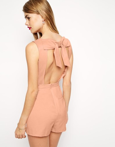 ASOS Romper with Bow Back, $54 (was $90)
