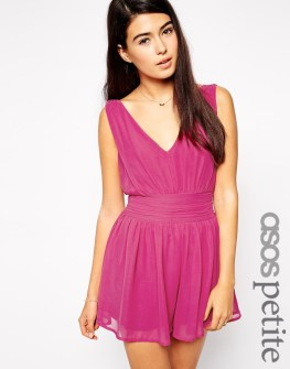 ASOS Petite Gathered Romper, $43.50 (was $73)