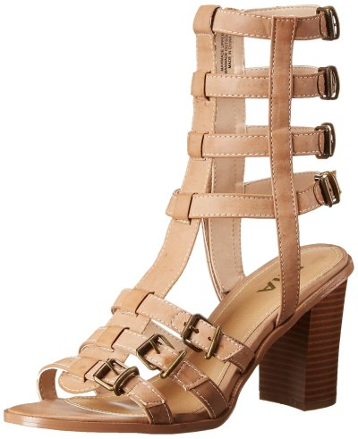 MIA Athens Gladiator Sandal Nude