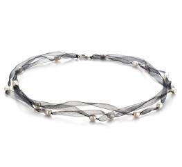 Jasmine Freshwater Pearl Silk Necklace