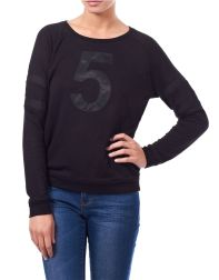 William Rast Number 5 Summer Sweatshirt