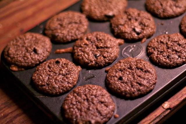 Banana Chocolate Quinoa Protein Muffins - 3